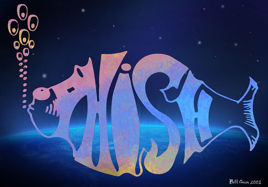 Phish Digital Art  - Phish Fine Art Print