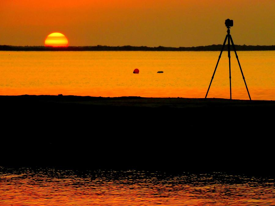 Waterscapes Photograph - Photographers Dream by Karen Wiles