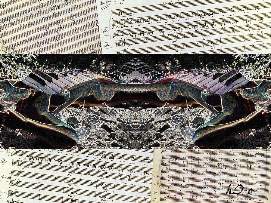 Sensual Digital Art - Piano Barojazz Scores by Ha Imako