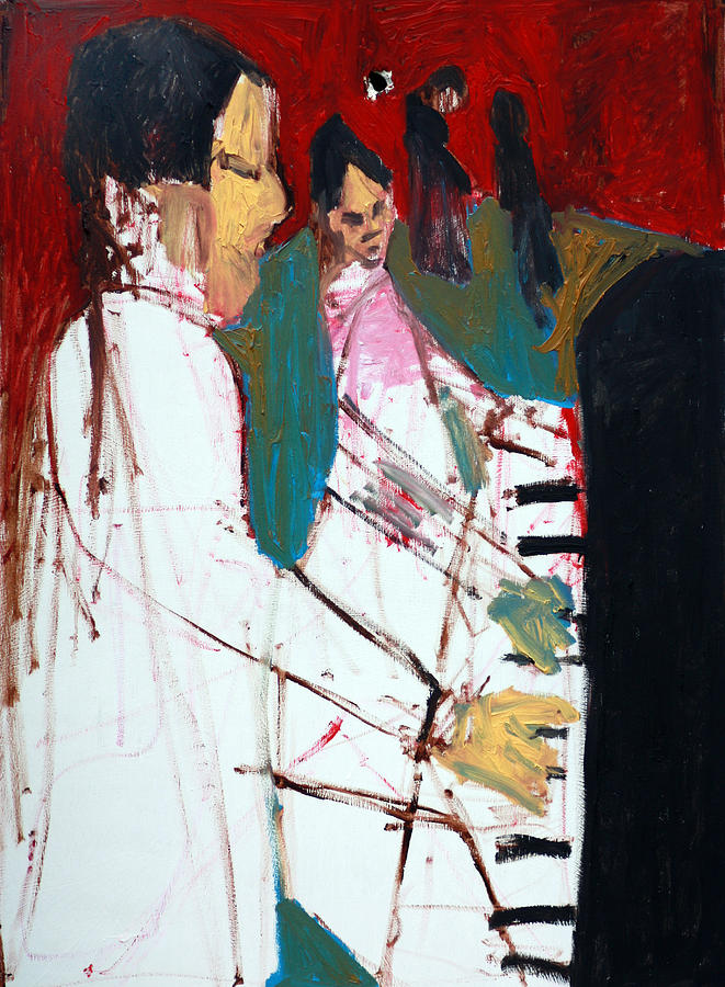Piano Players Painting