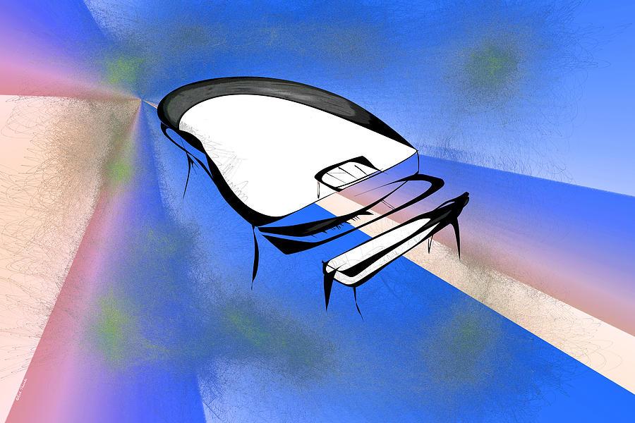 Digital Digital Art - Piano by Rick Thiemke
