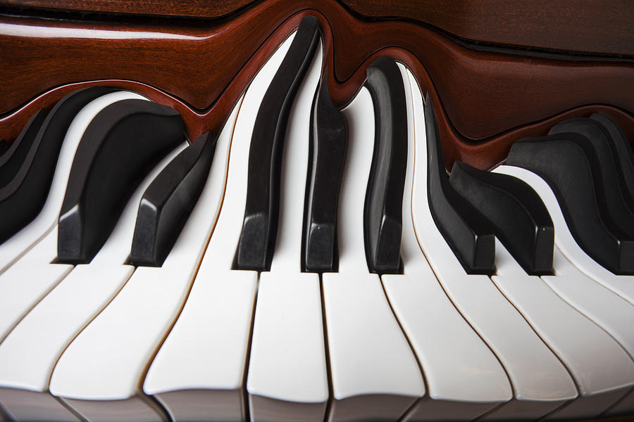 Piano Wave Photograph