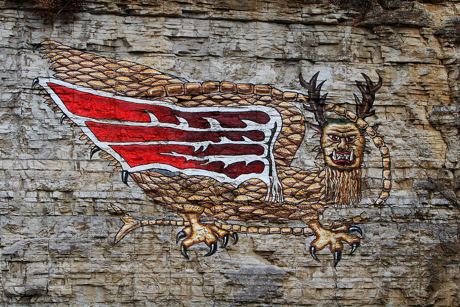 Piasa Bird Photograph - Piasa Bird by John Freidenberg