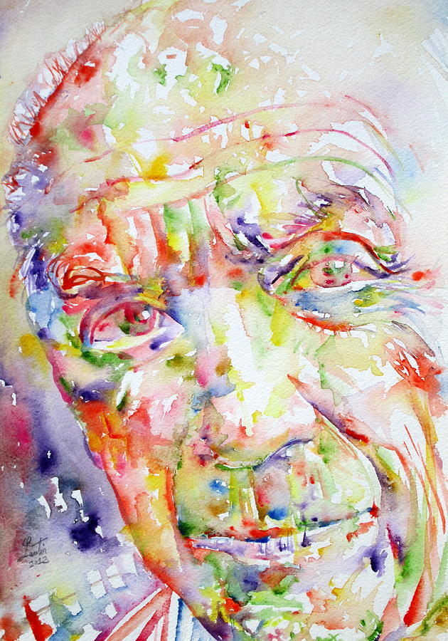Picasso Pablo Watercolor Portrait.2 Painting