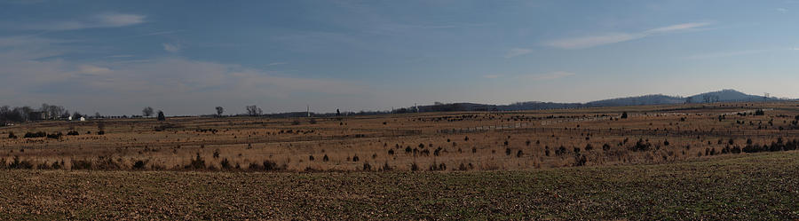 Picketts Charge From Seminary Ridge Photograph
