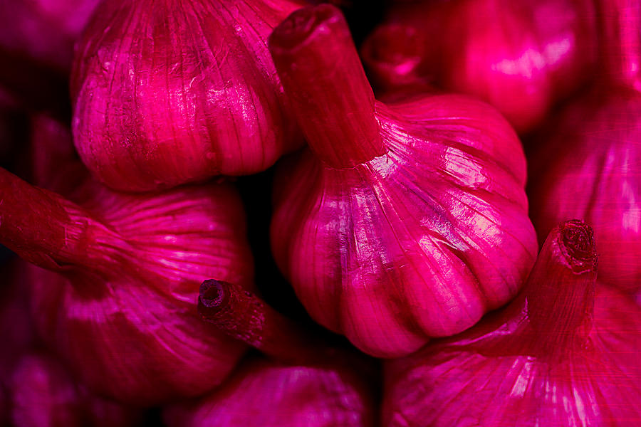 Pickled Red Garlic Photograph  - Pickled Red Garlic Fine Art Print