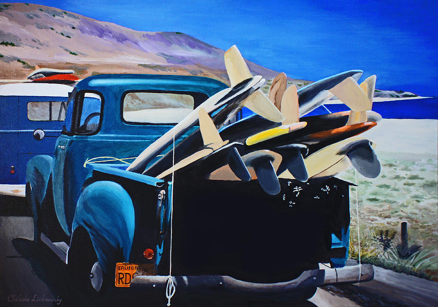 Pickup Truck Painting