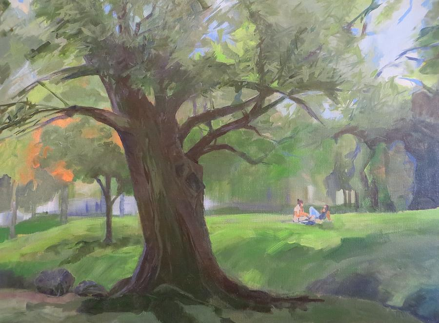 Picnic In The Park Painting by Terri Messinger