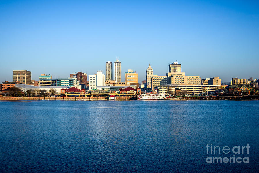 Picture Of Peoria Illinois Skyline Photograph