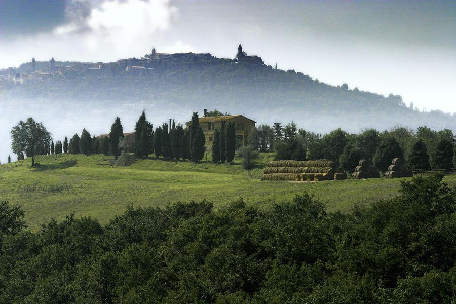 Italy Photograph - Pienza Tuscany by Al Hurley