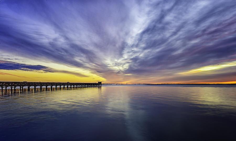 Pier Sunrise Photograph