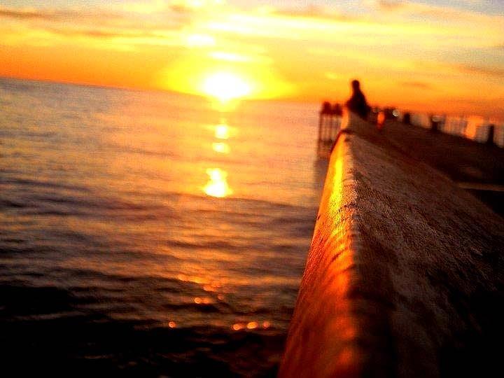 Sunset Photograph - Pier Sunset by Brandon Garcia