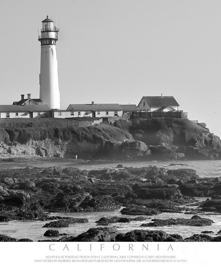 Pigeon Point Light House Photograph