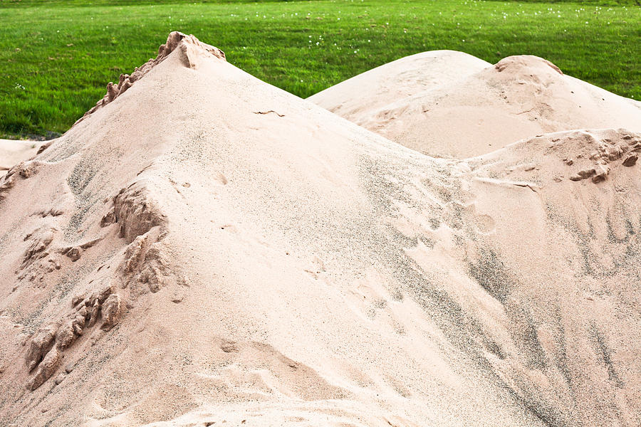 Pile Of Sand Photograph by Tom Gowanlock