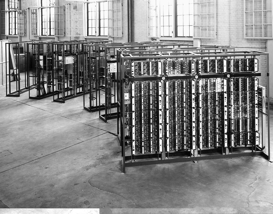 Automatic Computing Engine Photograph - Pilot Ace Computer Components, 1950s by Science Photo Library