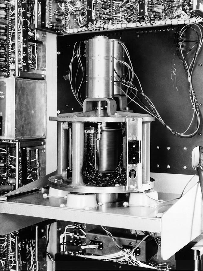 Pilot Ace Computer Components, 1954 Photograph