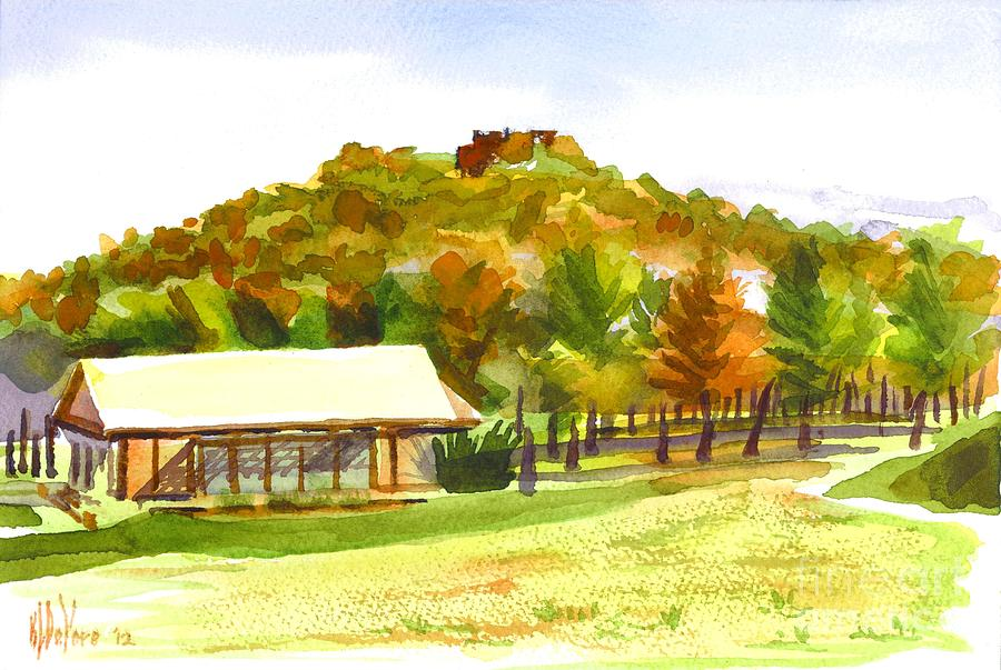 Pilot Knob Mountain 2 Painting  - Pilot Knob Mountain 2 Fine Art Print