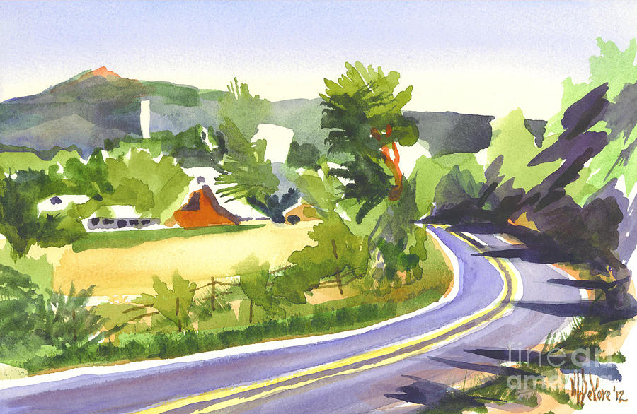 Pilot Knob Mountain Out Jj Painting