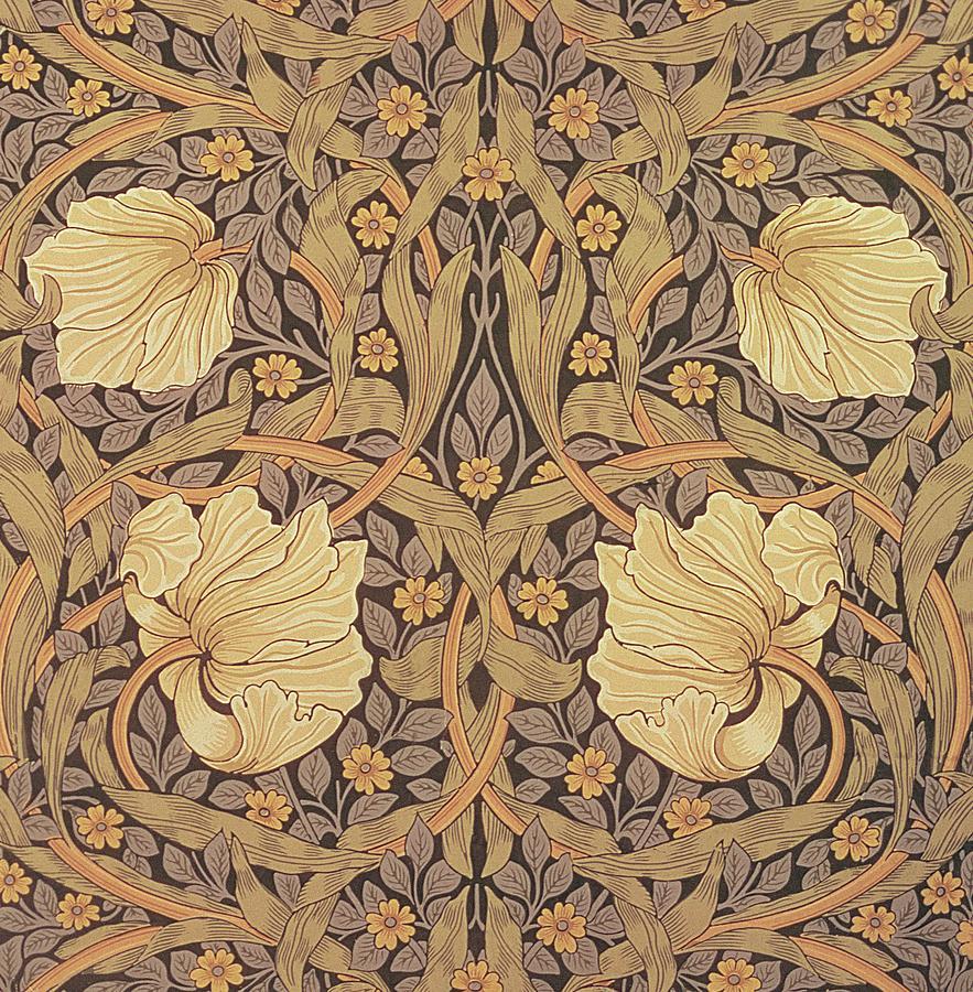 Pimpernel Wallpaper Design Tapestry - Textile