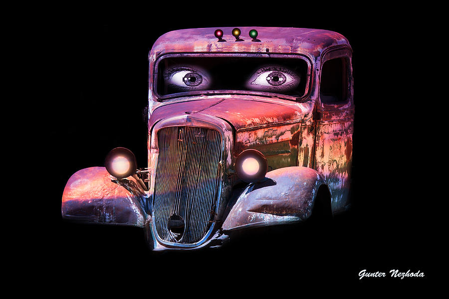 Pin Up Cars - #3 Photograph  - Pin Up Cars - #3 Fine Art Print