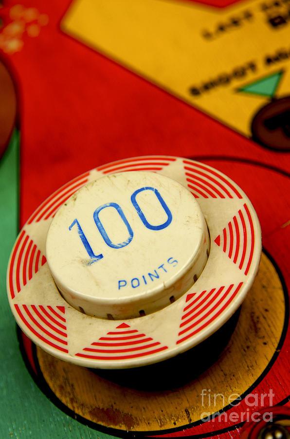 Pinball Machine Photograph
