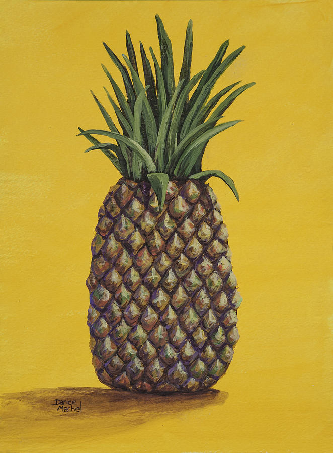Pineapple 4 Painting  - Pineapple 4 Fine Art Print