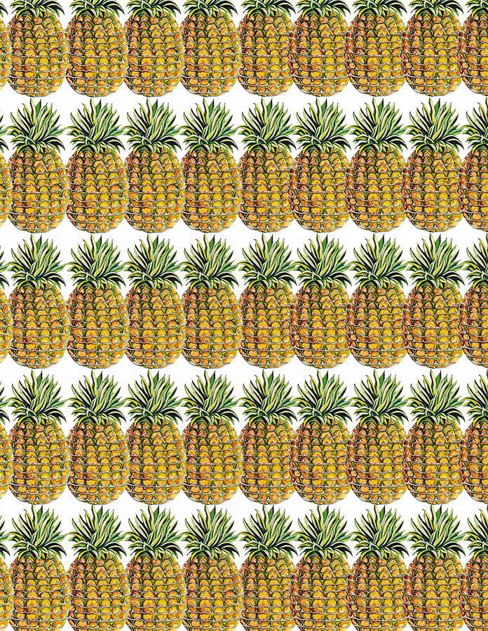 Pineapple Parade Painting