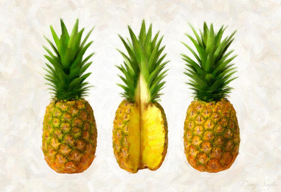 Pineapples Painting  - Pineapples Fine Art Print