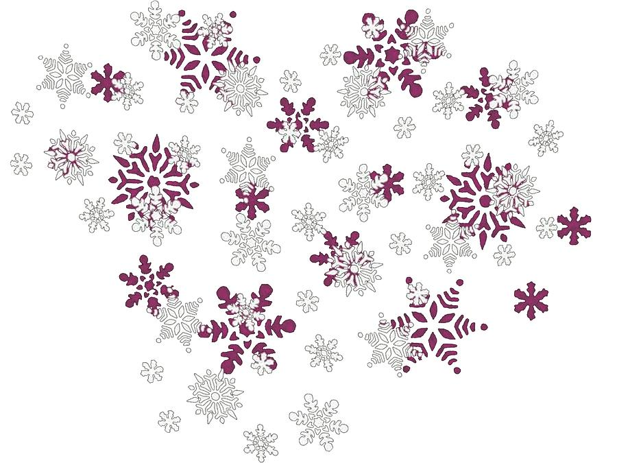 White Snowflake Transparent BackgroundWhite Snowflake Transparent Background