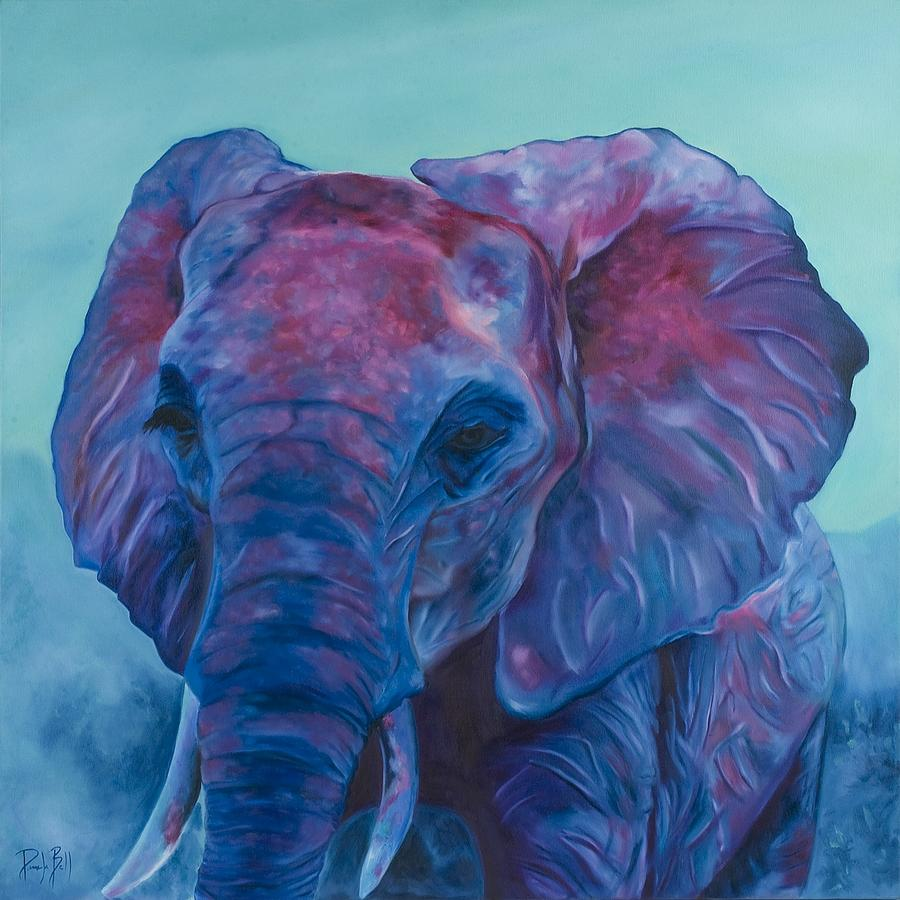 Pink Elephant Painting By Pamela Bell