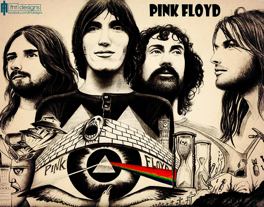 Pink Floyd Drawing