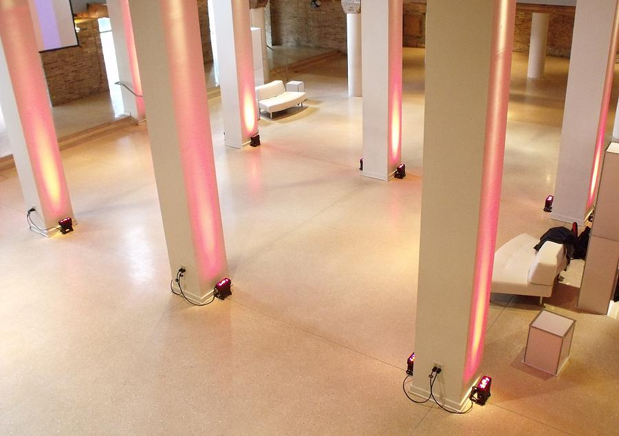 Pink Pillars I Photograph