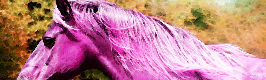 Pink Pony - Buy Beautiful Horse Prints Painting