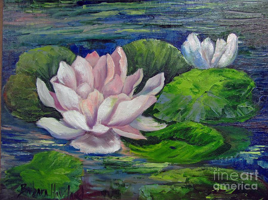 Meaning of pink lotus lotus flower macro pink lotus flower pink water lilies by barbara haviland painting by barbara mightylinksfo