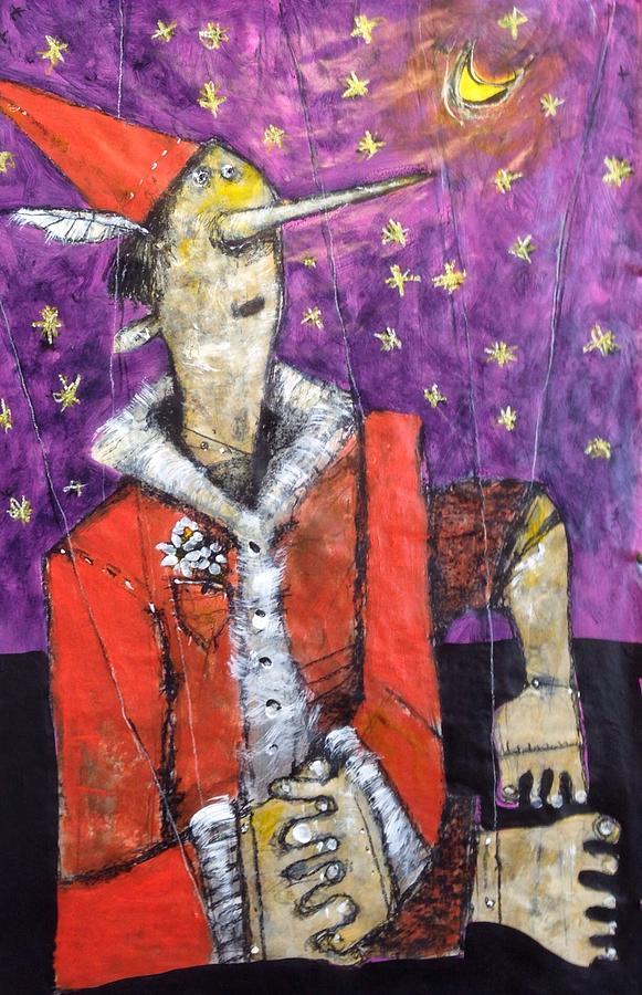 Pinocchio Painting - Pinocchio  No. 1  by Mark M  Mellon