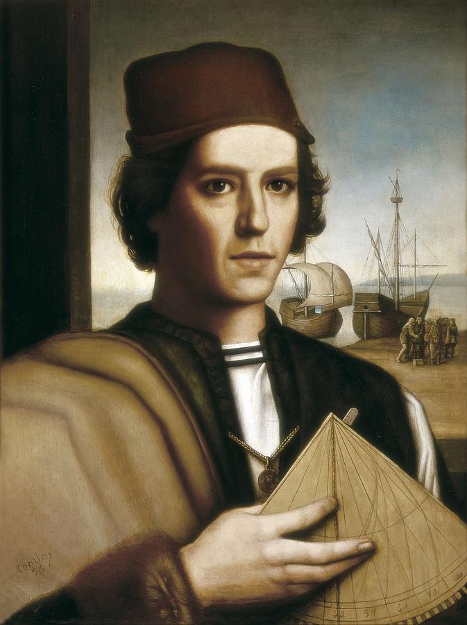 Pinzon, Vicente Y��ez  -1515. Painting Photograph
