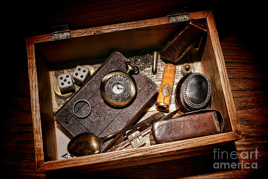 Pioneer Keepsake Box Photograph