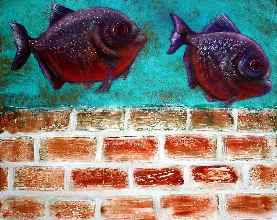 Piranha Painting