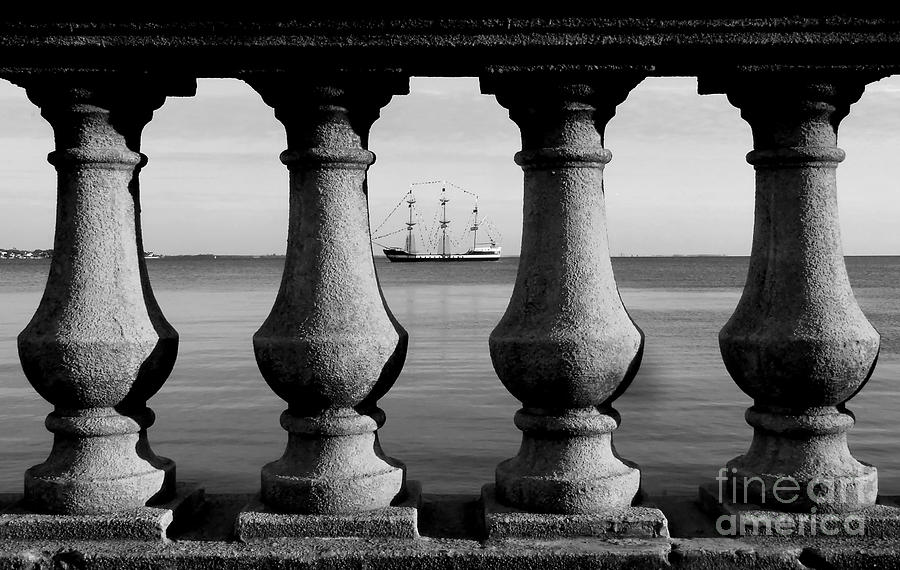 Pirate Ship On The Bayshore Photograph