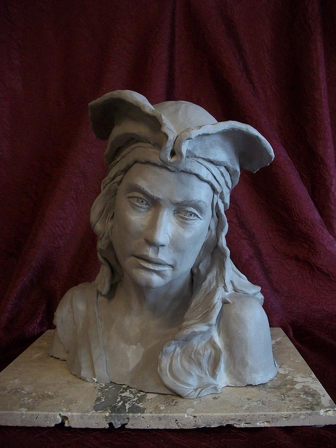 Pirate Woman Sculpture