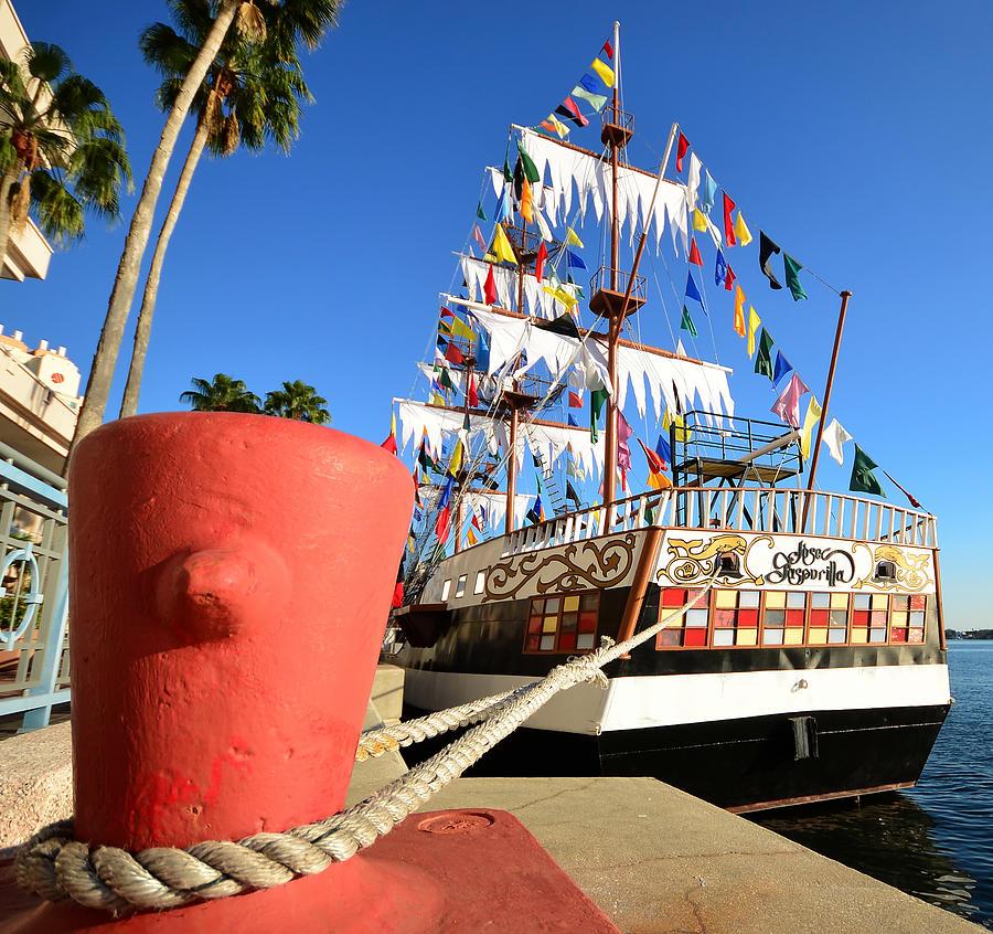 Pirates In Harbor Photograph