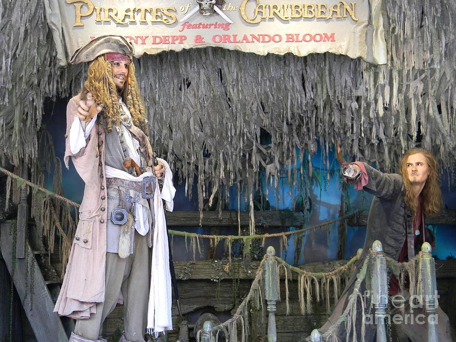 Pirates Of The Caribbean Sculpture