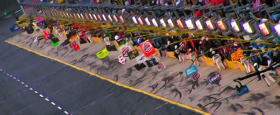 Pit Road Painting