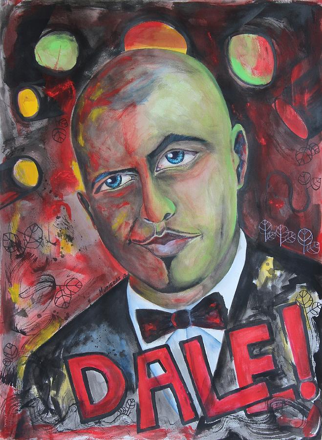 Pitbull - Dale Painting