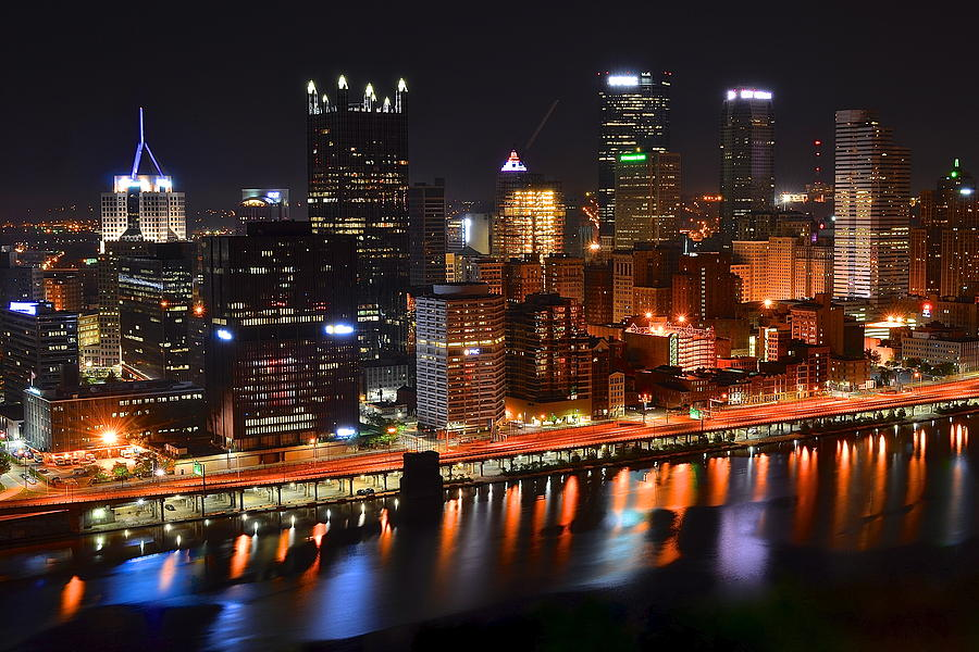 Pittsburgh From Above Photograph