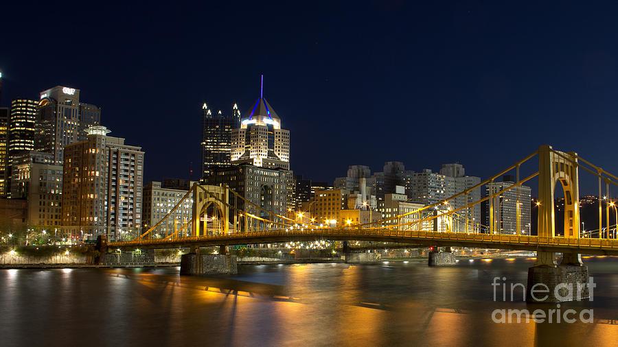 Pittsburgh Lights Photograph