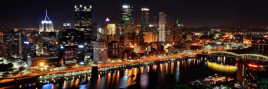 Pittsburgh Panorama Photograph