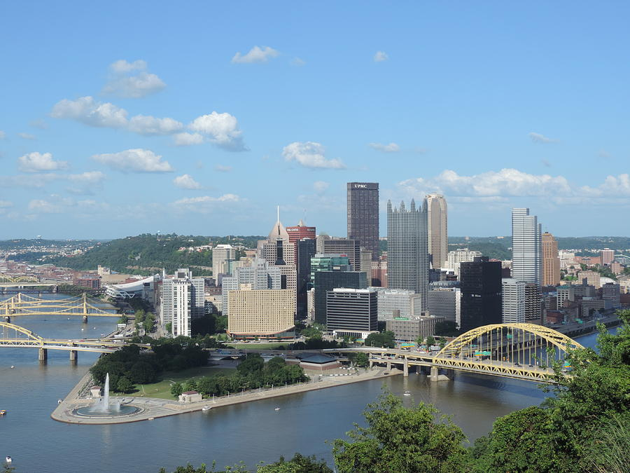 Pittsburgh Skyline From Mount Washington is a photograph by Cityscape ...