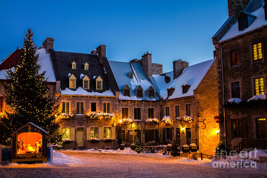 Place Royale Quebec City Canada Photograph