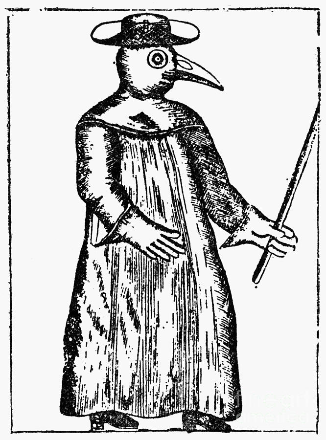 Plague Costume, 1720 Photograph